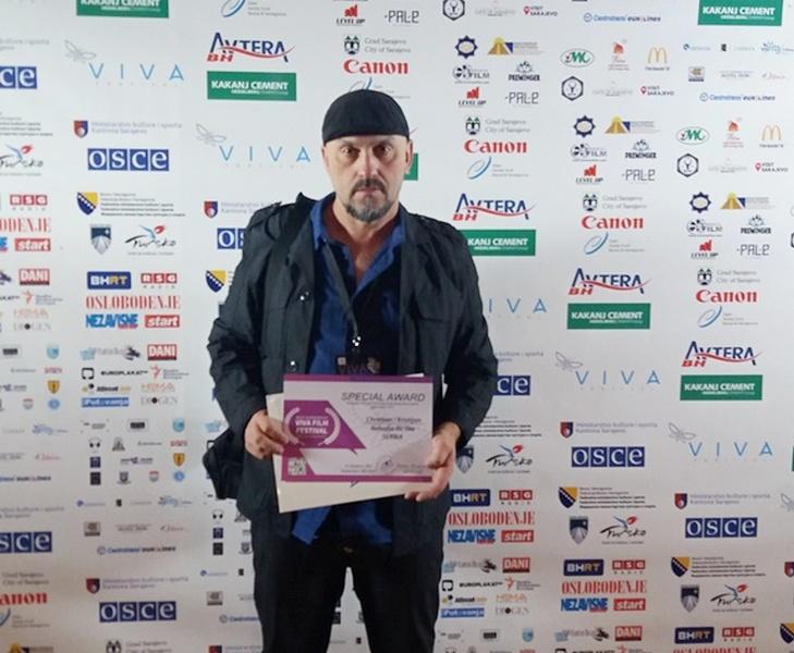 Ilke se i iz Sarajeva vratio sa nagradom za film Kristijan