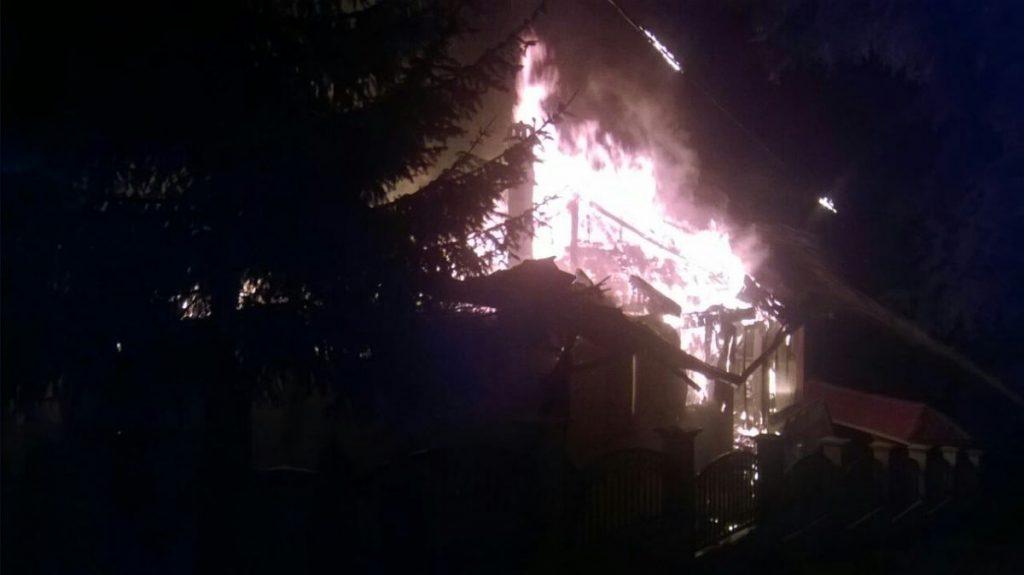 Izgorela vikednica gradonačelnika Leskovca na Vlasini
