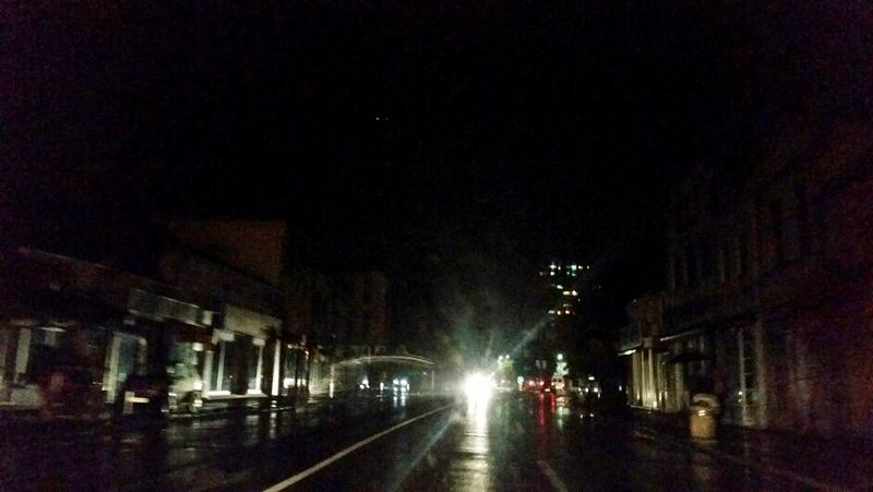 GRAD BEZ SVETLA Centar u mraku, jedan deo i bez struje