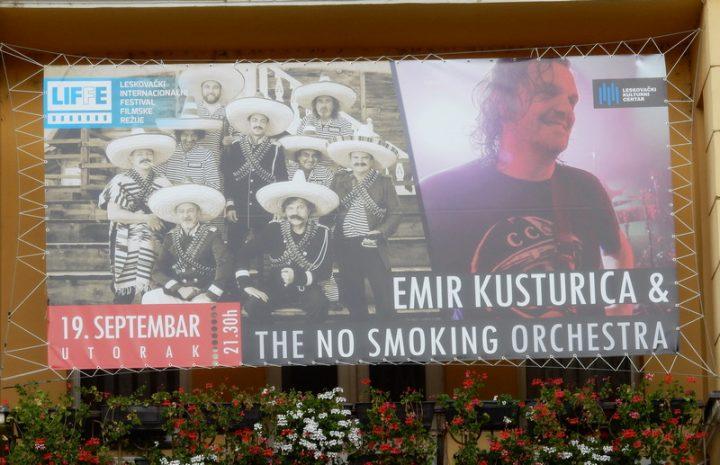 LIFFE Još 4 dana do spektakla – Kusturica i besplatni koncert No smoking orkestra