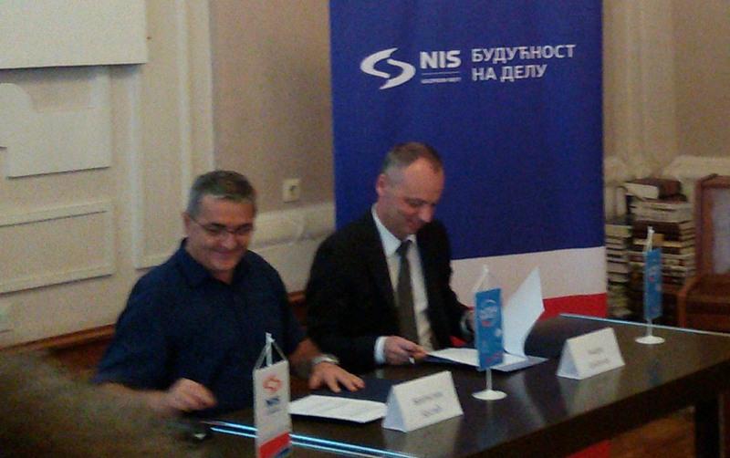 Gimnazija od NIS -a dobija kabinet za ruski jezik