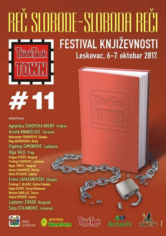 Festival književnosti ThinkTank Town posle LIFFE