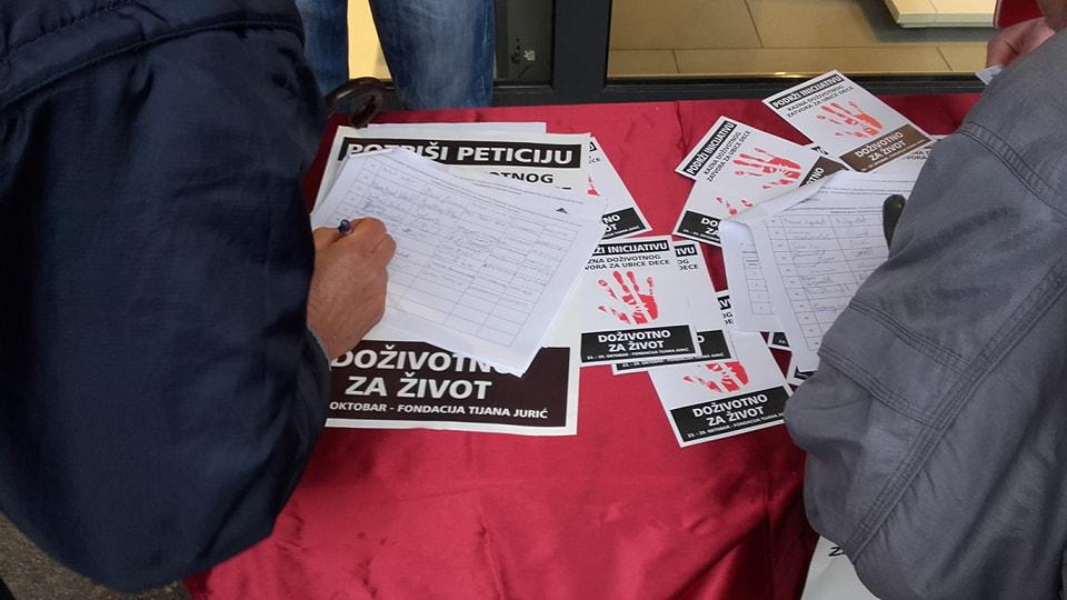 """Leskovčani masovno podržavaju akciju """"Doživotno za život"""""""
