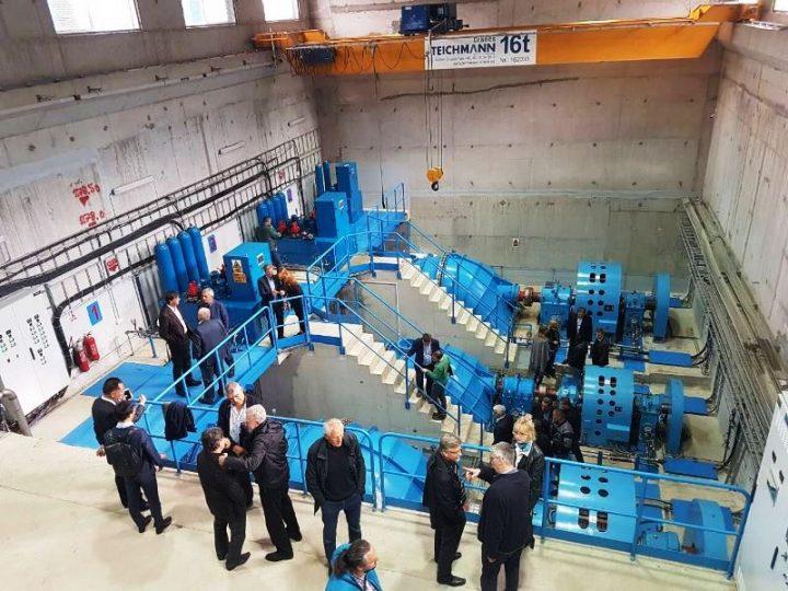 Otvorena hidrocentrala Vrgudinac u Beloj Palanci