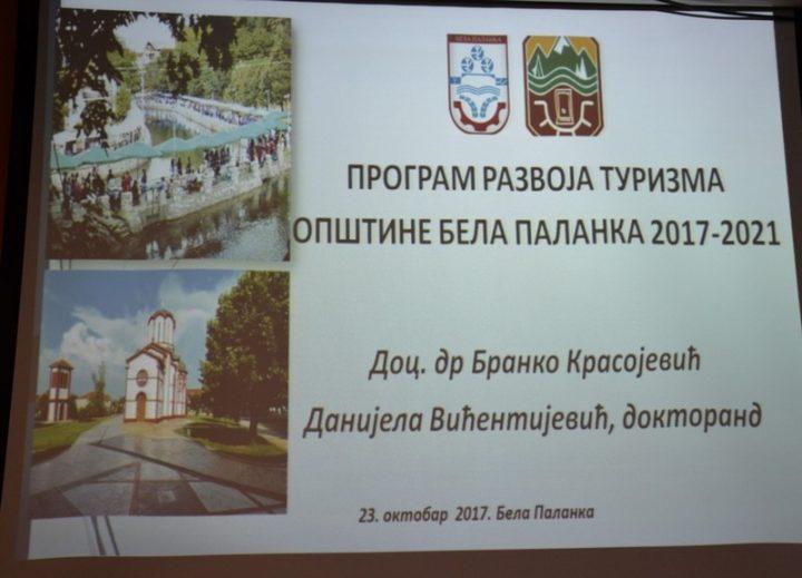 Bela Palanka druga opština u Srbiji koja je izradila program razvoja turizma