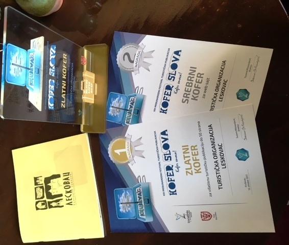 Turistička organizacija Leskovac najbolja među najboljima