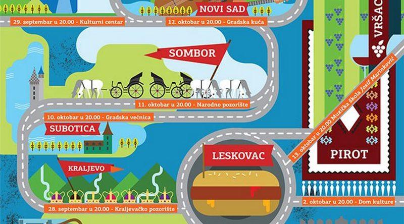 """""""Le tour de sax"""" stiže u Leskovac"""