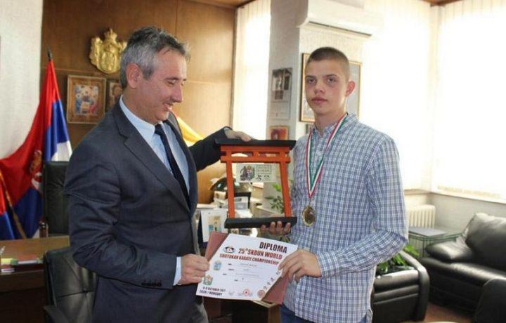 Svetski prvak u kareteu živi u Vranju