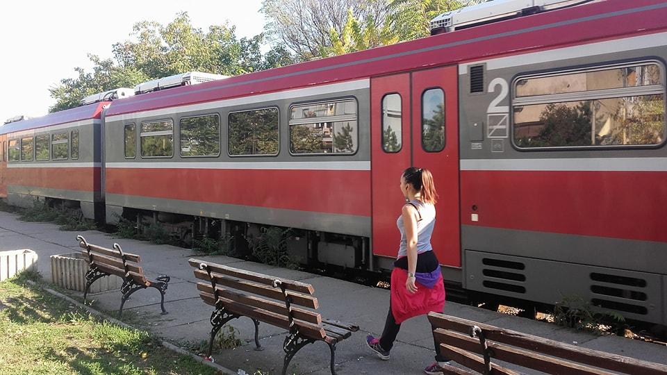 Devojku u Nišu udario voz