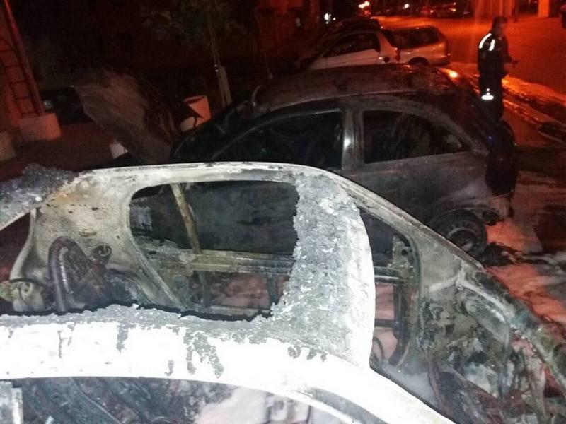 Šefici zapalio auto