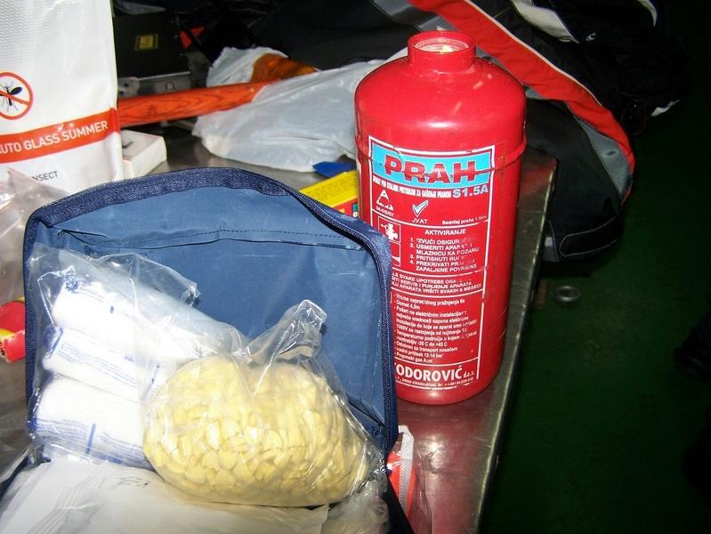 Ekstazi u aparatu za gašenje požara