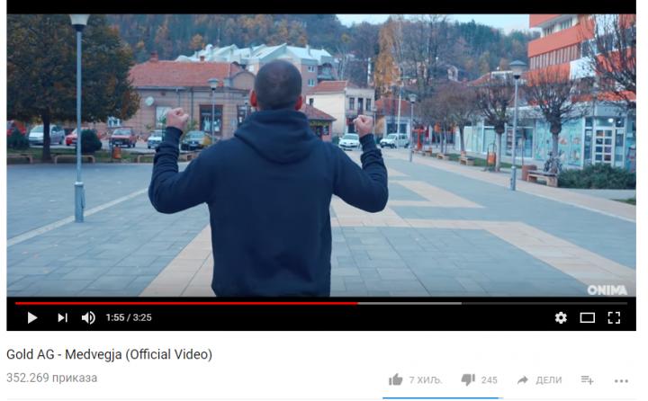 Pevač iz Prištine zapalio internet spotom kojim je Medveđu smestio u Veliku Albaniju (VIDEO)
