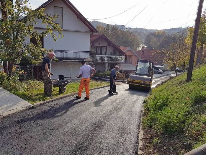 Rekonstruiše se Beogradska ulica i asfaltira put do Jagnjila