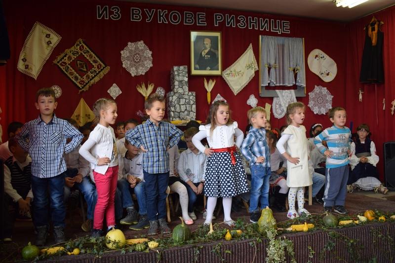 Vukova riznica među mališanima u Krupcu
