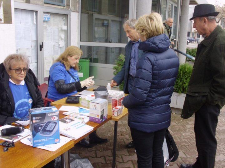Ebers 016 organizovao besplatnu proveru šećera u krvi