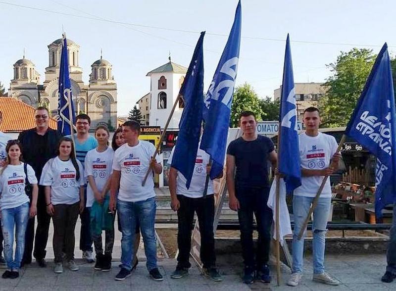 DSS: Mladi Jablaničkog okrugla rekli NE evropskim integracijama