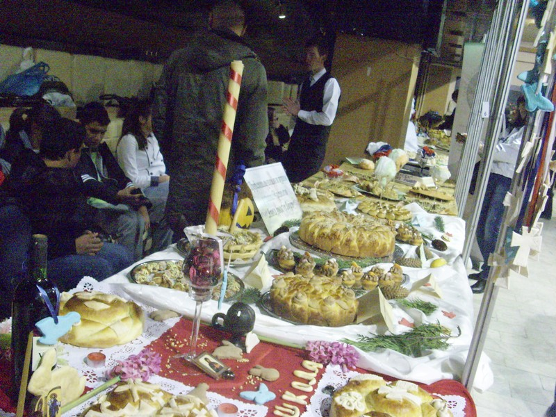 Učenici mesili slavske kolače
