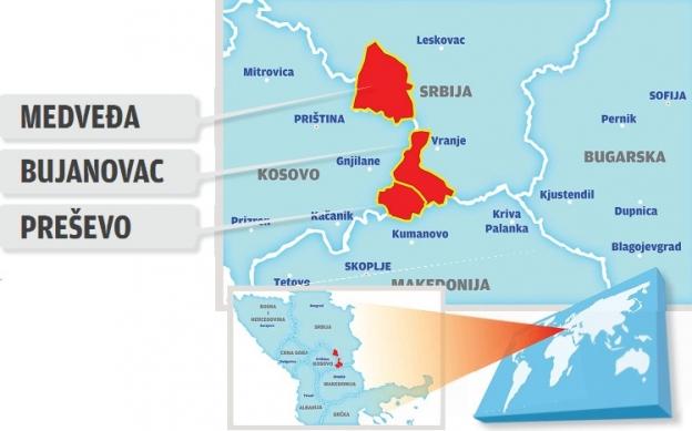 Leposavić i Lešak za Preševo i deo Bujanovca?