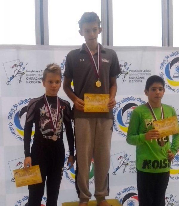 Školski sport: Leskovački učenici osvojili 16 medalja na državnom takmičenju