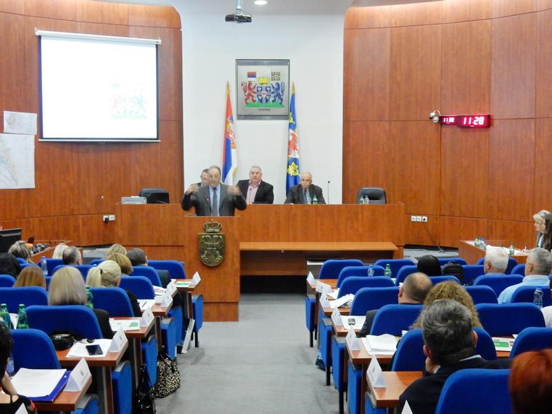 Sednica Skupštine Leskovca 19. aprila
