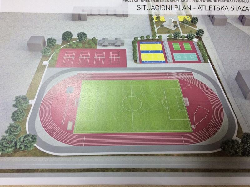 Novi stadioni za Leskovac i Vranje do 2021.