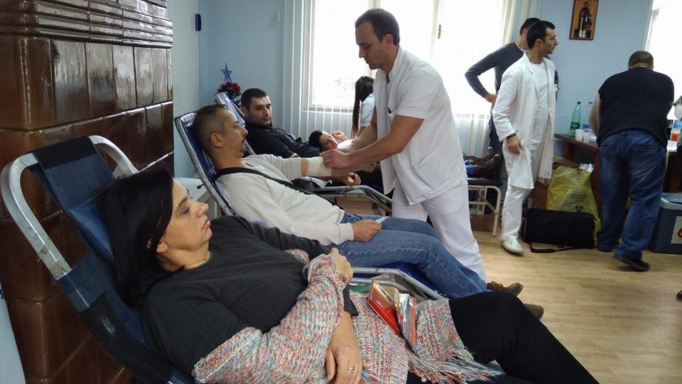 Naprednjaci u akciji dobrovoljnog davanja krvi