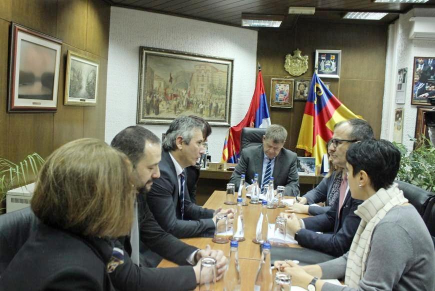 Ambasador EU Sem Fabricio u Vranju