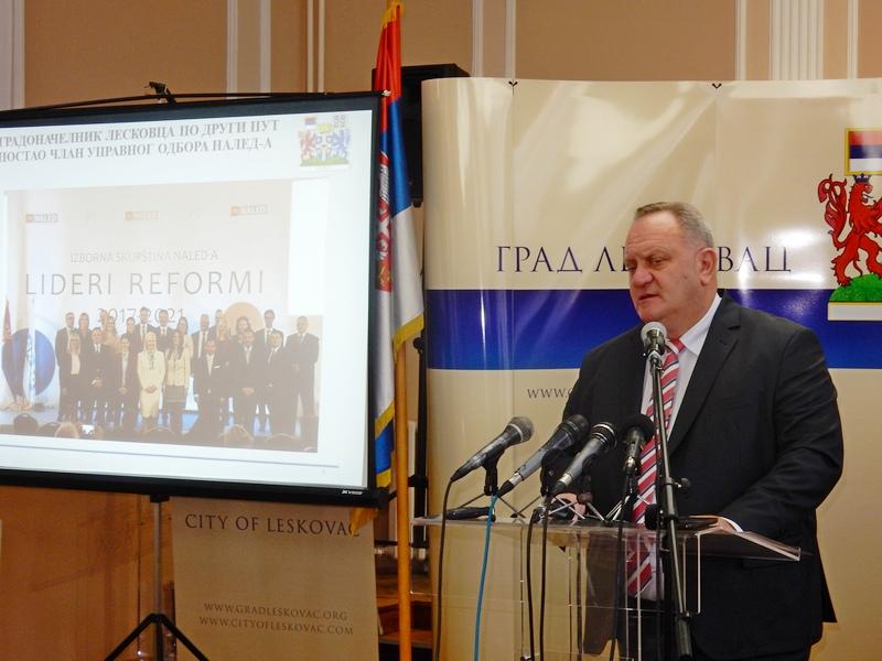 Gradonačelnik Leskovca: 2017. bila godina rada i priznanja