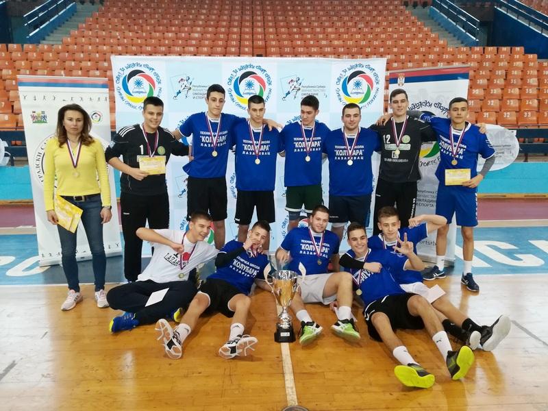 "LESKOVAC: Tehnička škola ""Kolubara"" iz Lazarevca ide na svetsko takmičenje"