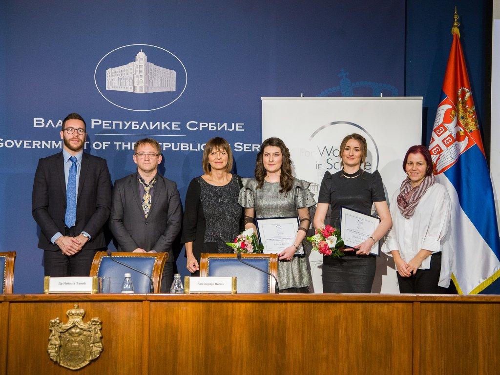 Dve mlade Nišlijke i jedna Leskovčanka su budućnost srpske nauke