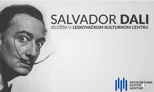 Salvador Dali stiže u Leskovac