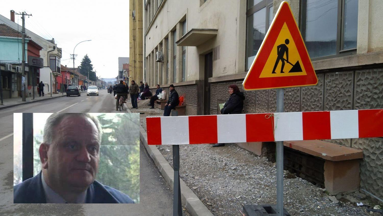Gradonačelnik Leskovca ljut na svoje saradnike i izvođače radova