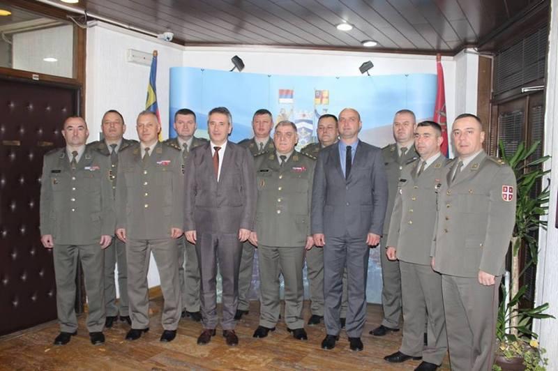 Prijem za pripadnike 4. brigade Kopnene vojske