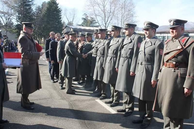 Vojna svečanost za Dan brigade