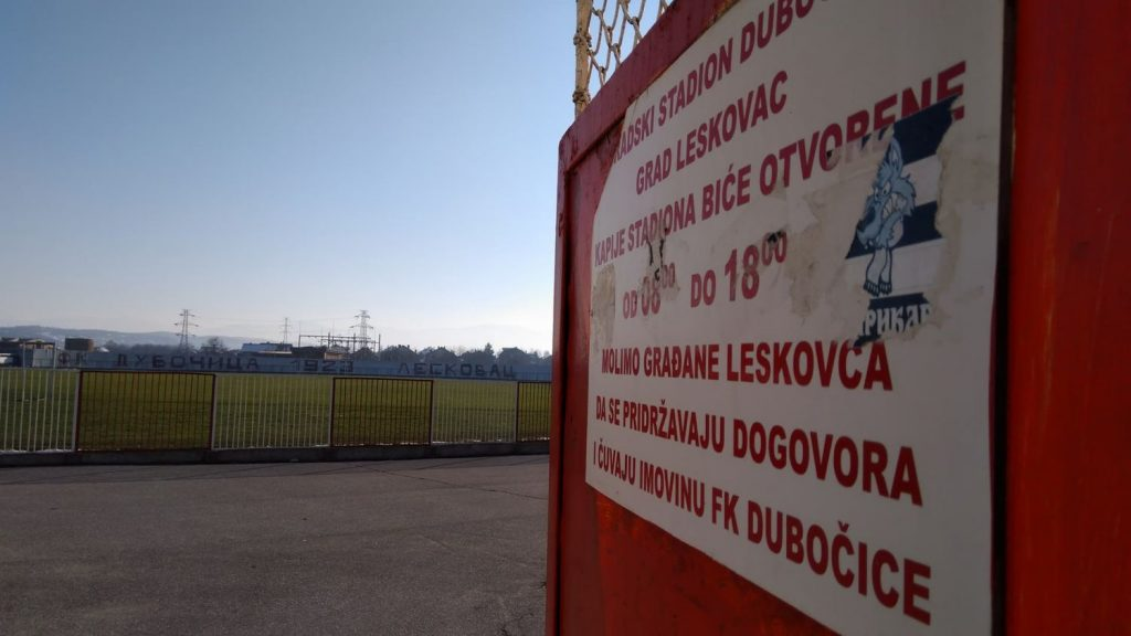 Rekonstrukcija stadiona Dubočice ipak nije samo bajka