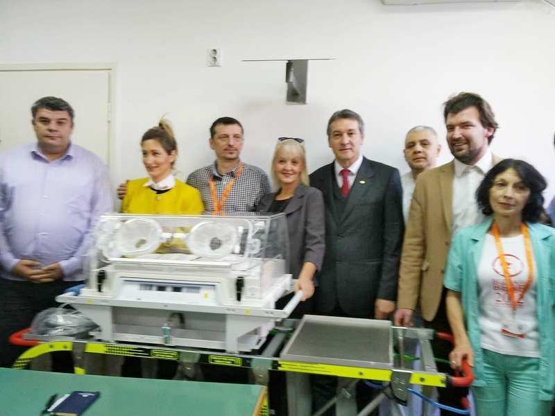 Osuđenici kupili novi inkubator za nišku ginekologiju