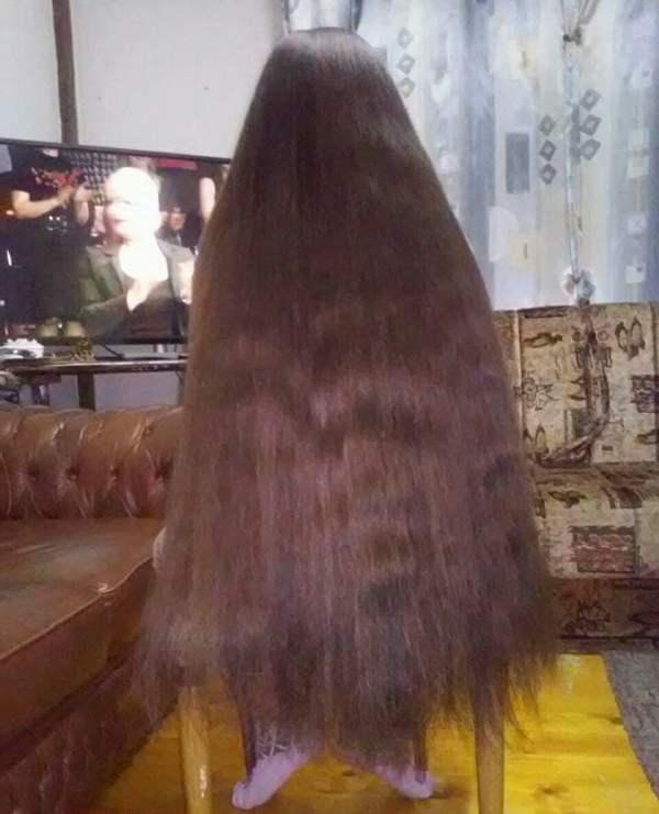 Devojčica sa najdužom kosom u Leskovcu