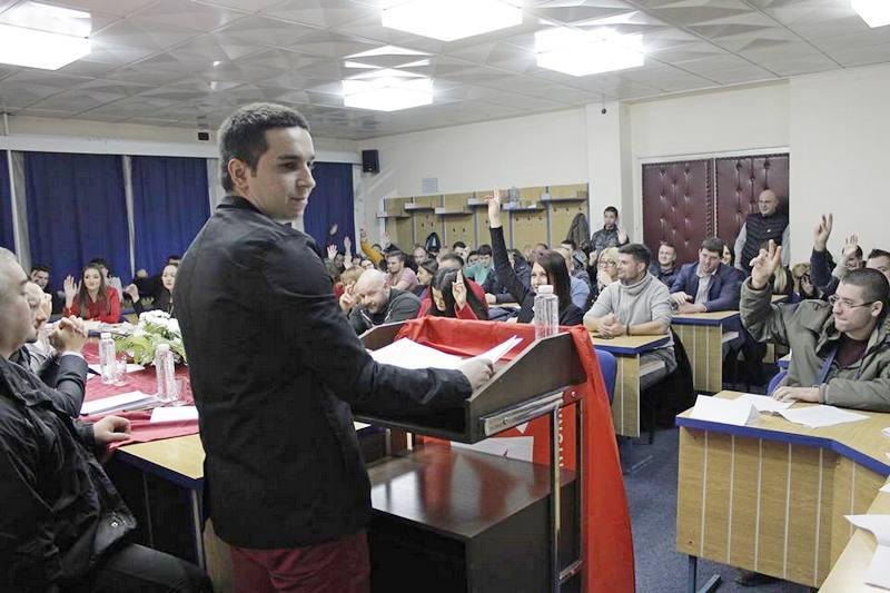 Aleksandar Janković novi predsednik omladine SPS