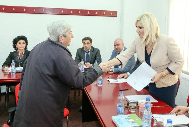 Zorana Mihajlović u sredu u Vranju