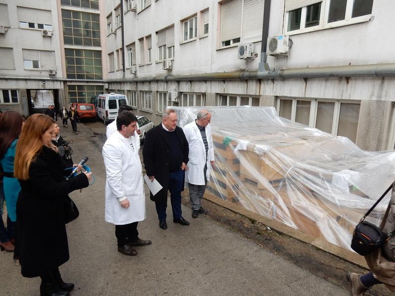 Fondacija princeze Katarine donirala opremu za bolničku centralnu sterilizaciju