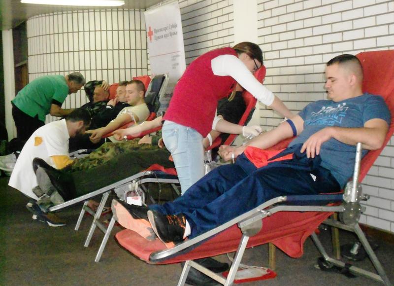 Policija u dobrovoljnoj akciji davanja krvi