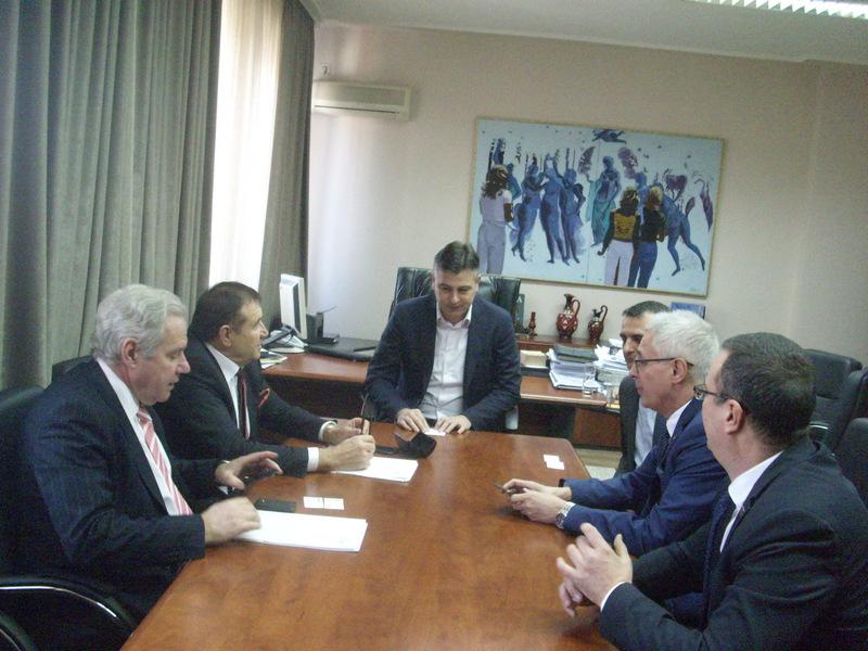 Predstavnici Konfederacije industrijalaca i poslodavaca Bugarske u Pirotu