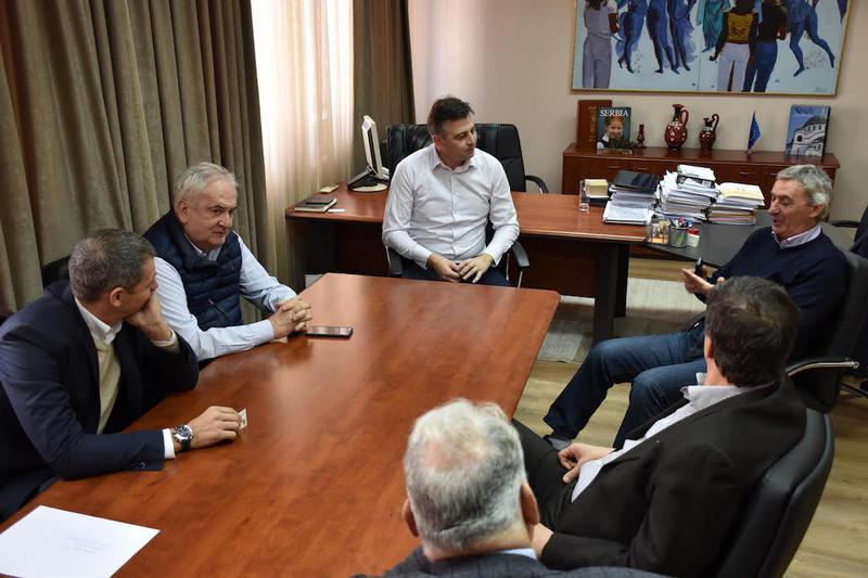 Delegacija Olimpijskog komiteta Srbije u poseti Pirotu