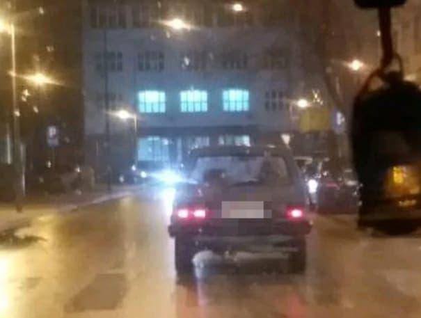 (FOTO ZAGONETKA) A gde je vozač?