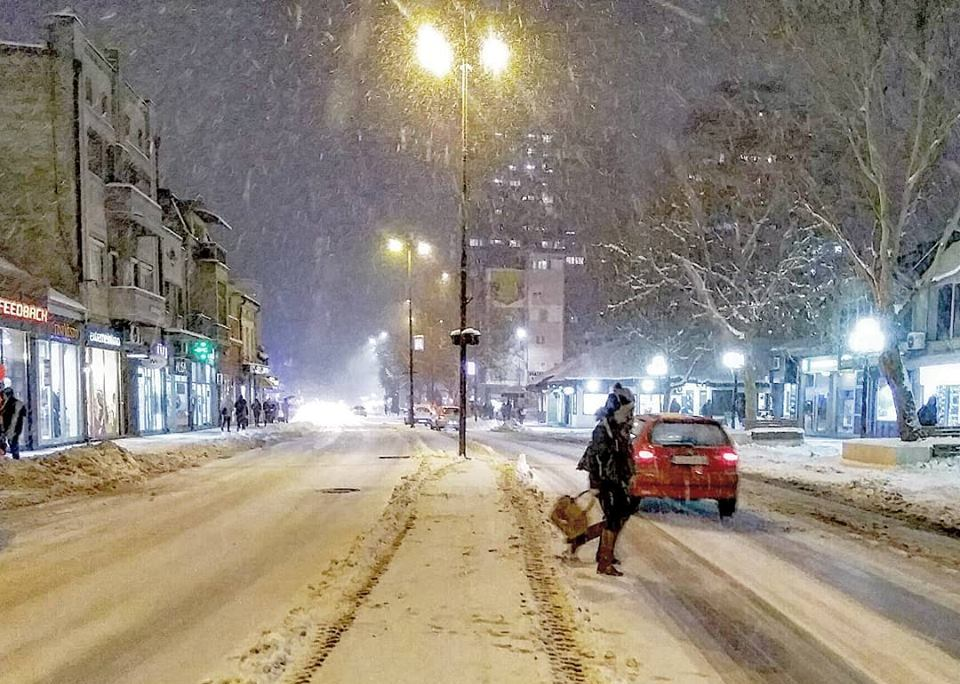 Ledeni dani do subote, u toku noći ponovo sneg