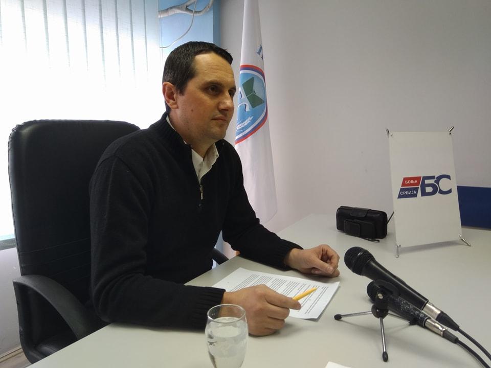 Raspušten Gradski odbor Bolje Srbije u Leskovcu