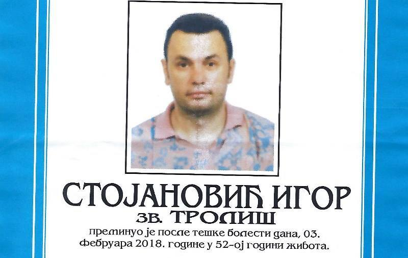IN MEMORIAM Preminuo profesor Igor Stojanović Troliš