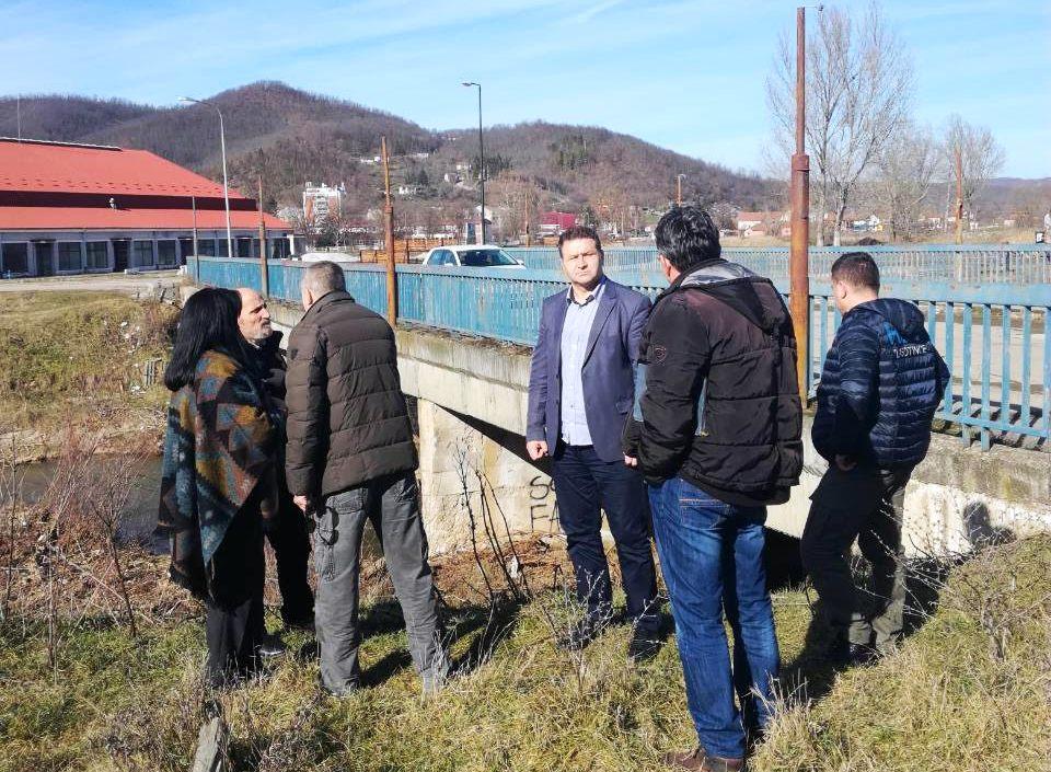 Čišćenje korita reke Jablanice