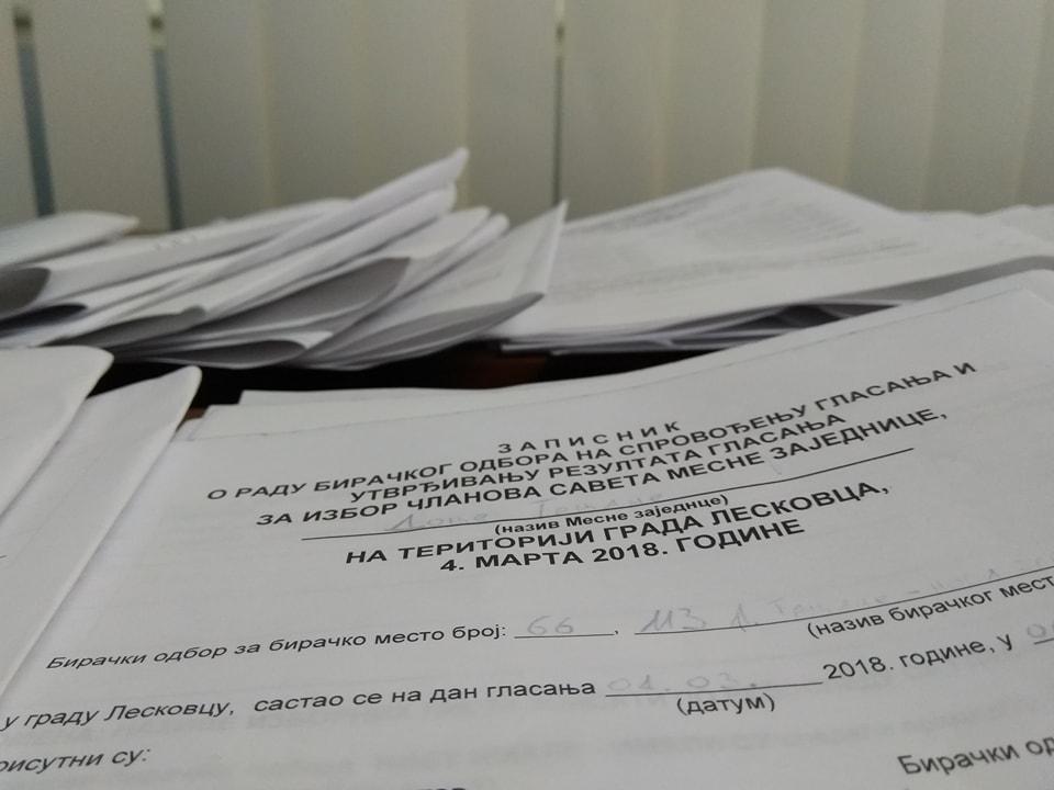 Pobeda koalicije oko SNS-a u 138 od 139 mesnih zajednica u Leskovcu