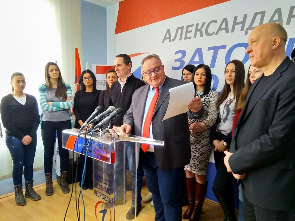 Cvetanović: Za nas su bitni i izbori za kućni savet
